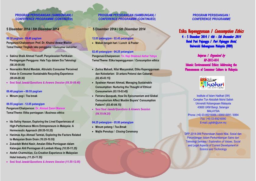 Program Persidangan Etika Kepenggunaan 2014 [Programme -  Consumption Ethics 2014] (1)_2