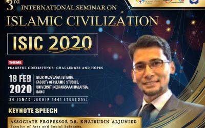 3rd International Seminar of Islamic Civilization (ISIC 2020)