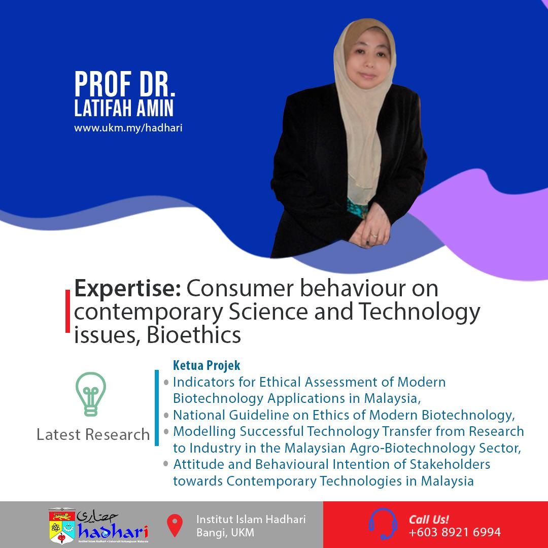 felo poster Prof. Dr. Latifah Amin
