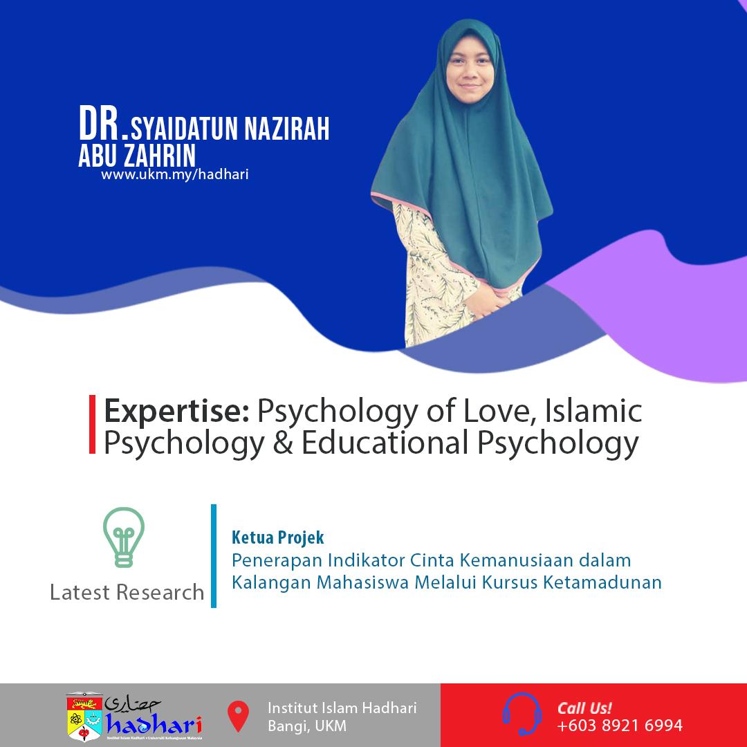 felo poster Dr. Syaidatun Nazirah Abu Zahrin