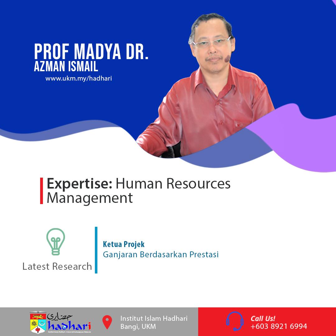felo poster Prof. Madya Dr. Azman Ismail
