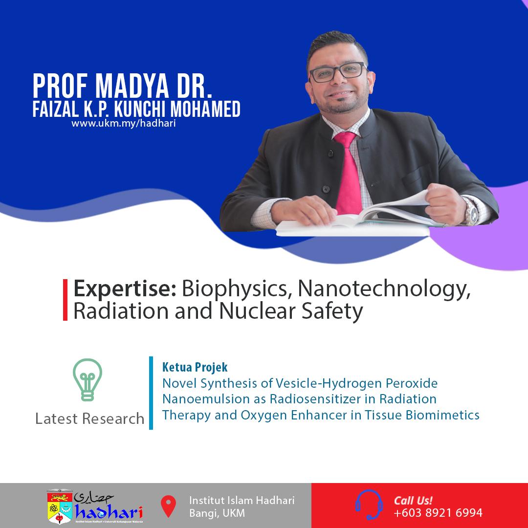 felo poster Prof. Madya Dr. Faizal K.P. Kunchi Mohamed