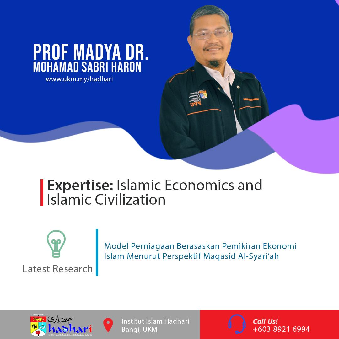 felo poster Prof. Madya Dr. Mohamad Sabri Haron