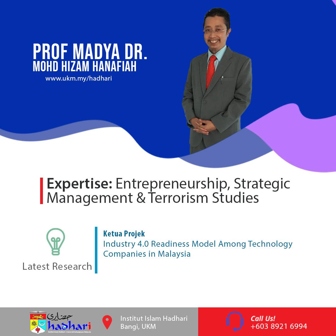 felo poster Prof. Madya Dr. Mohd Hizam Hanafiah