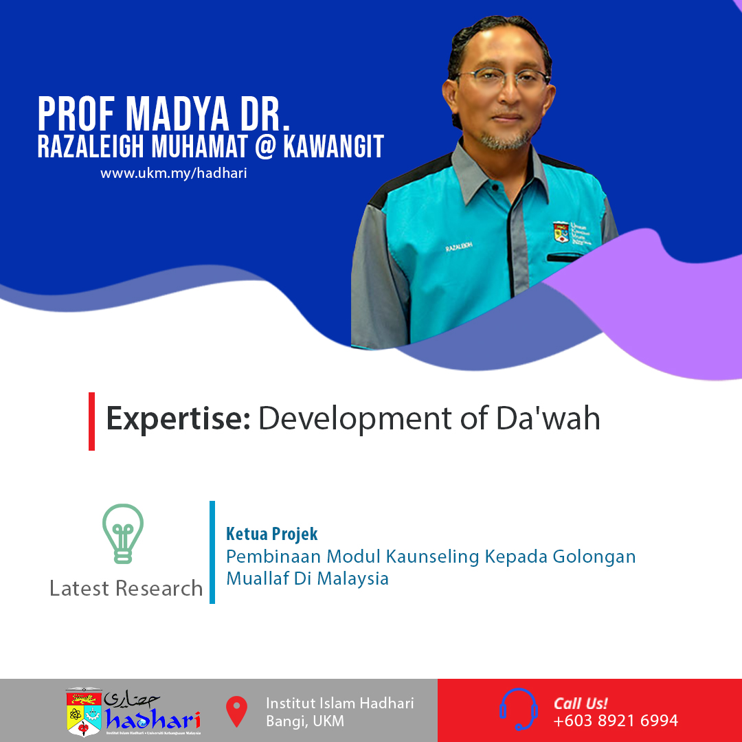 felo poster Prof. Madya Dr. Razaleigh Muhamat @ Kawangit