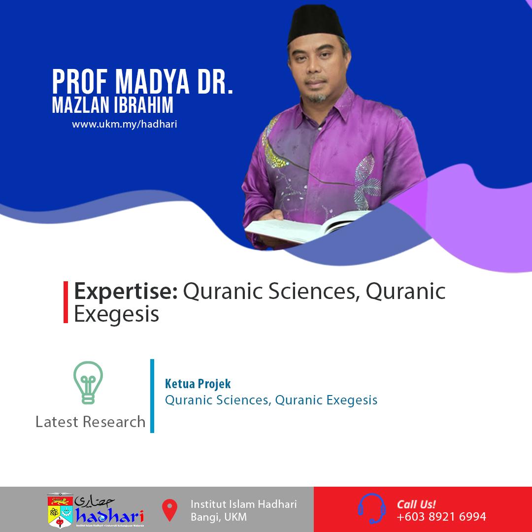felo poster Prof. Madya Dr. Mazlan Ibrahim