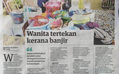 """""""Wanita Tertekan Kerana Banjir"""" – Prof Dr Fariza Md Sham"""