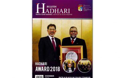 Hadhari Bulletin 2018
