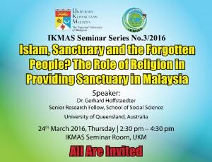 IKMAS Seminar Series