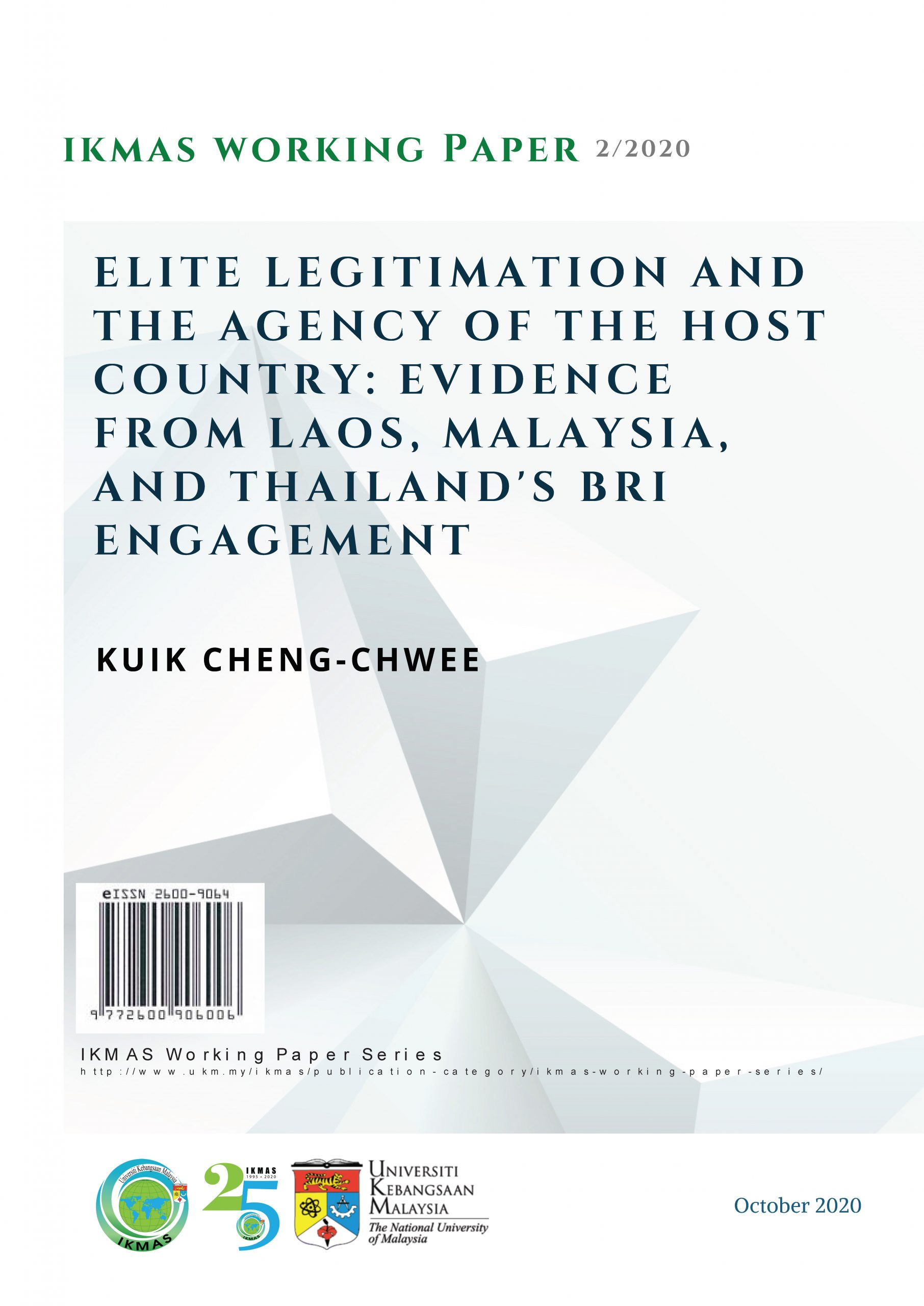 Elite Legitimation and the Agency of the Host Country: Evidence from Laos, Malaysia, and Thailand's BRI Engagement