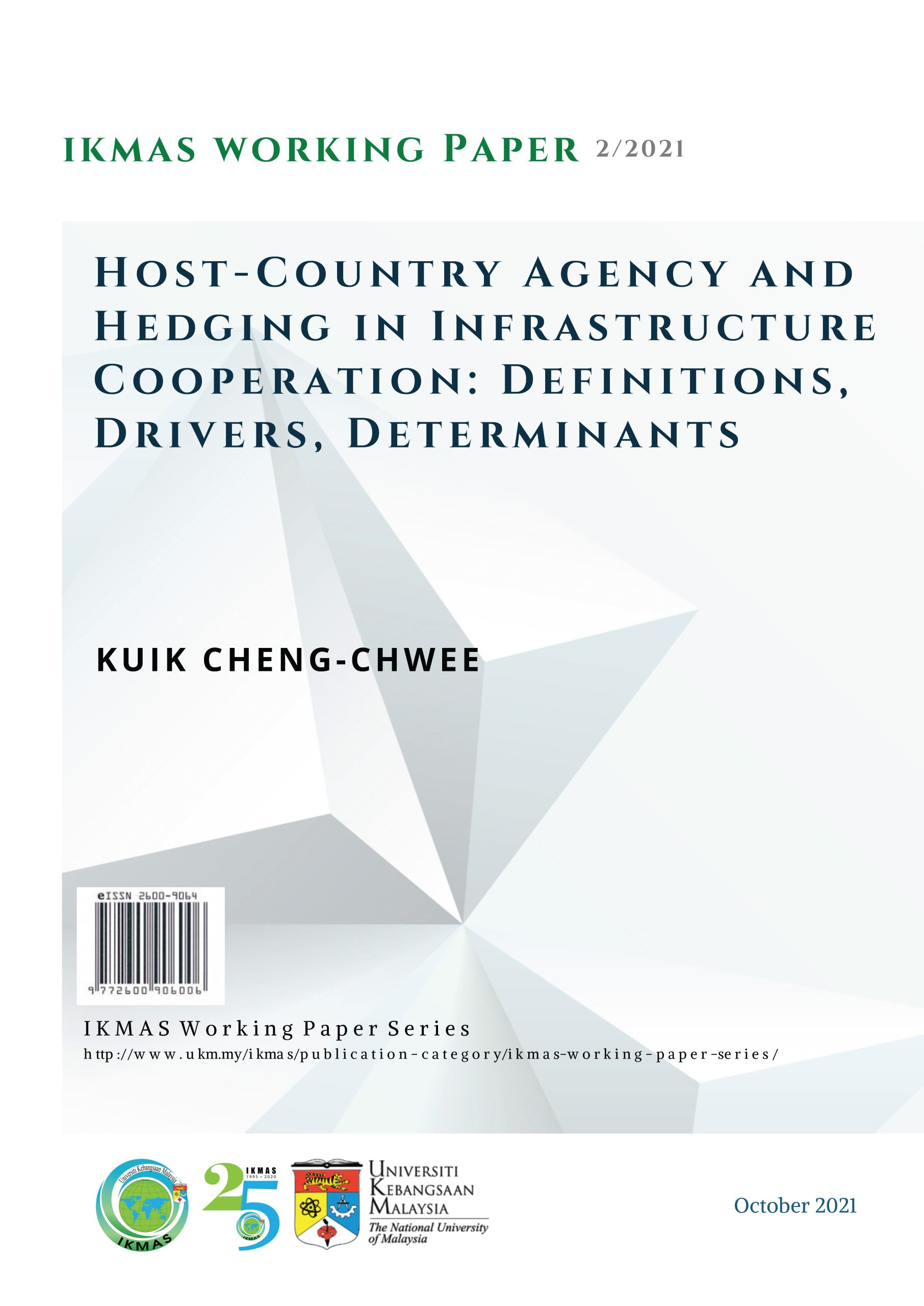Host-Country Agency and Hedging in Infrastructure Cooperation: Definitions, Drivers, Determinants