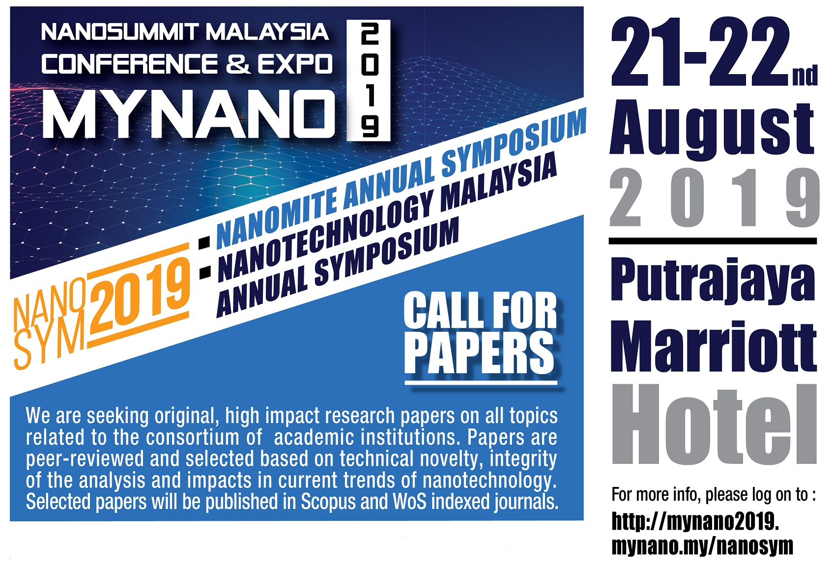 MYNANO2019 – The NanoMITe Annual Symposium & Nanotechnology