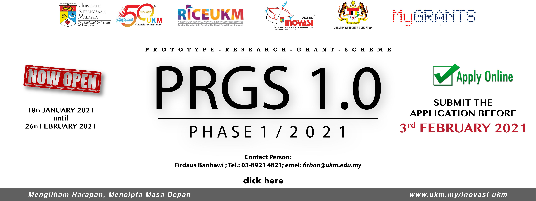 PRGS Fasa 1 2021