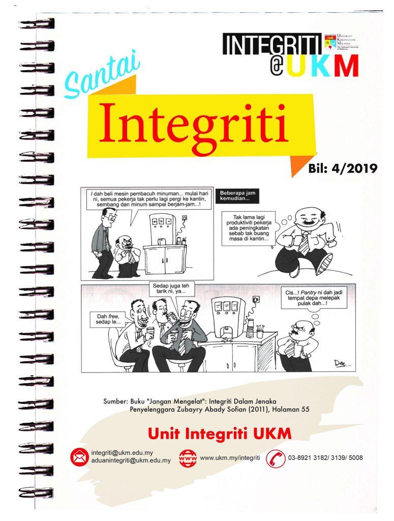 Santai Integriti Bil. 4-2019