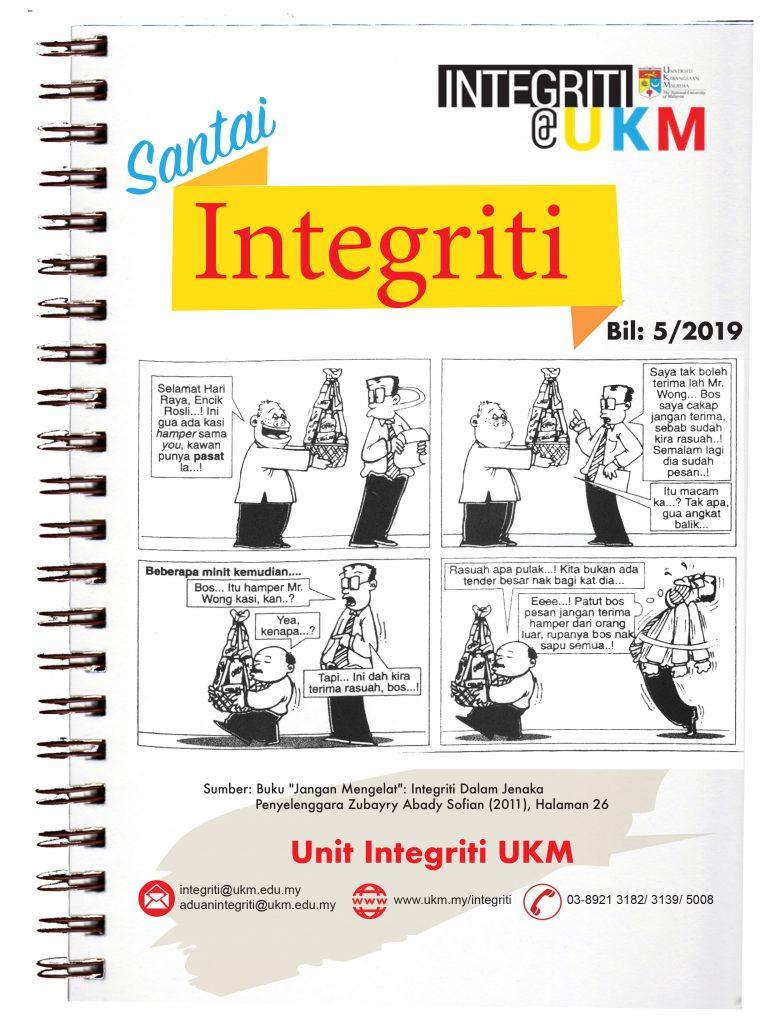 Santai Integriti Bil. 5-2019