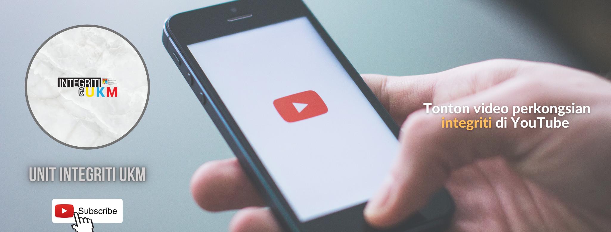 Unit Integriti UKM Youtube