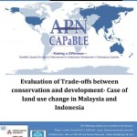 Evaluation of Trade-offs between conservation and development