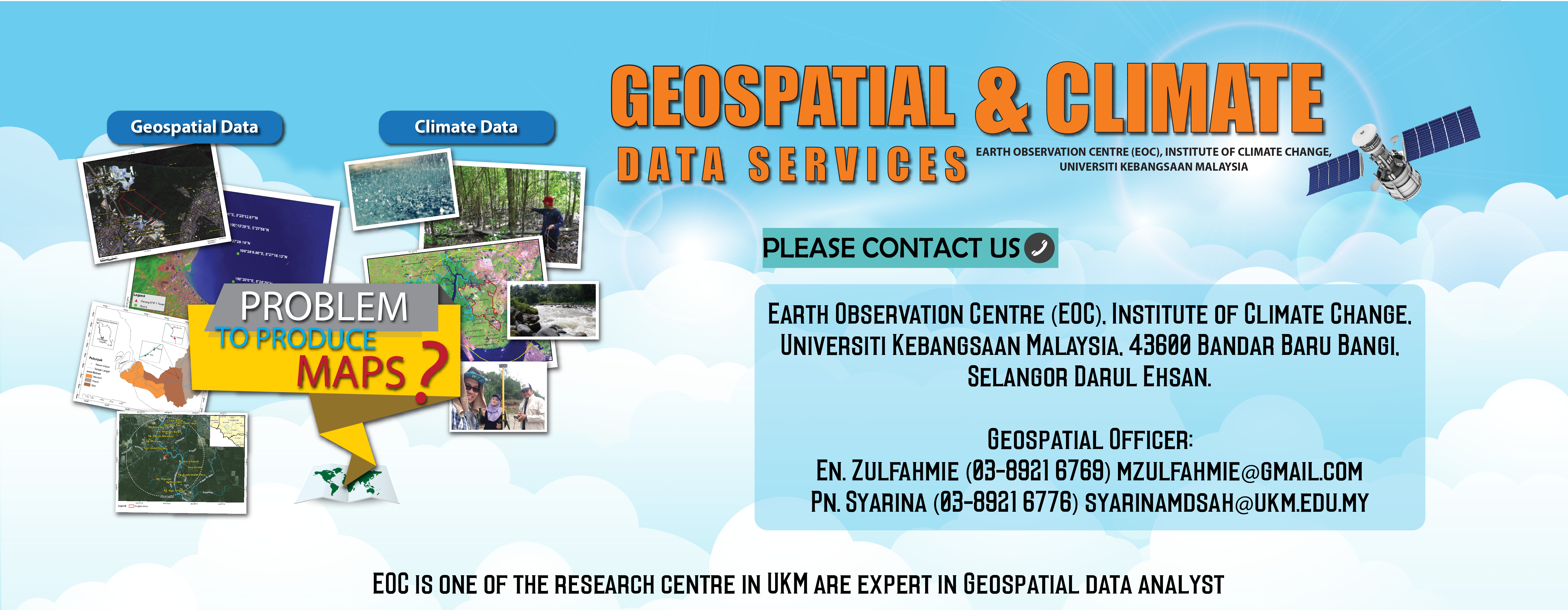 Geospatial & CLimate Data Services