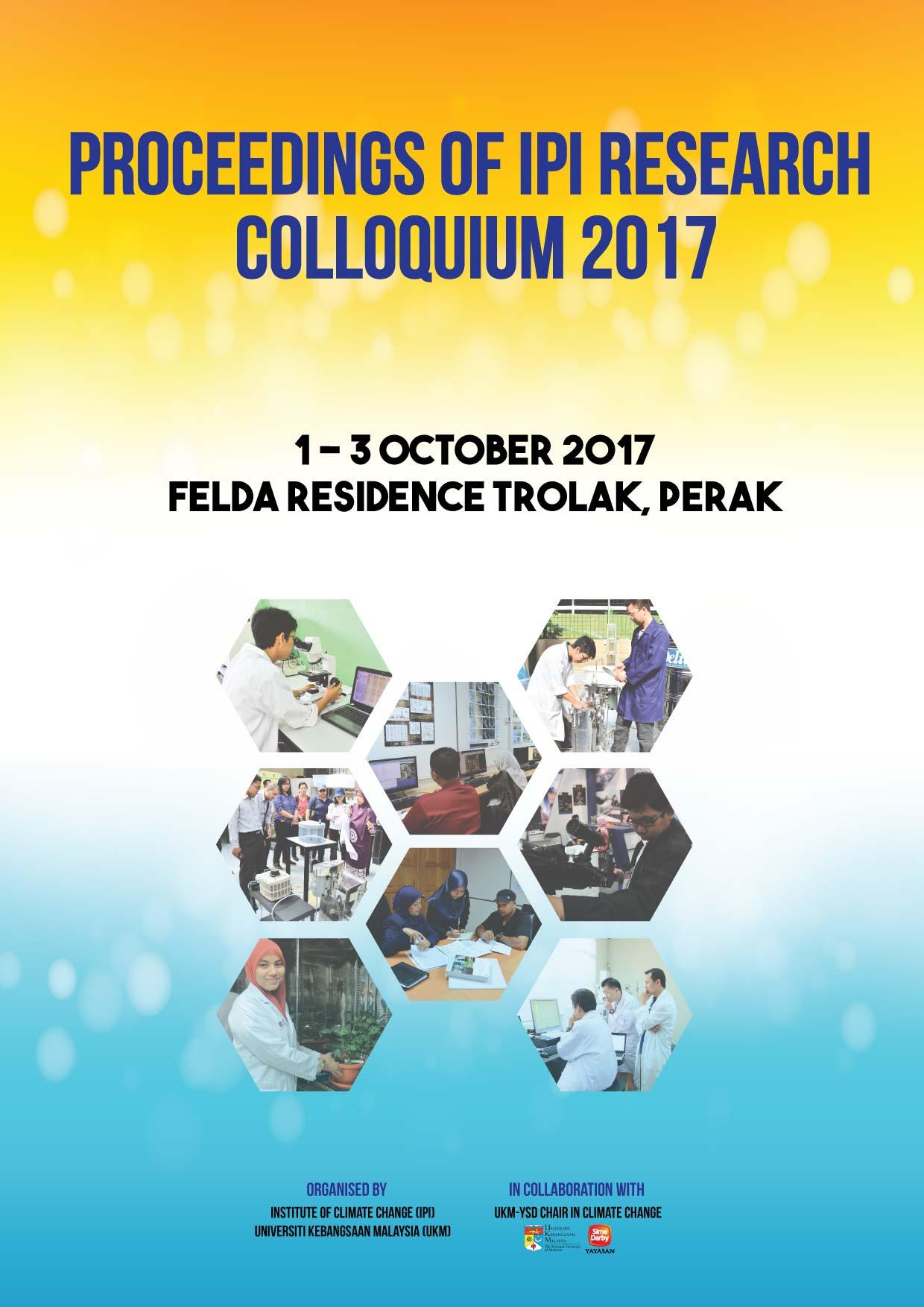 Proceeding of IPI Research Colloquium 2017