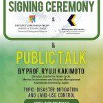 Prof. Ryuji Kakimoto, Center for Water Cycle,  Marine Environment and Disaster Management, Kumamoto University, Japan