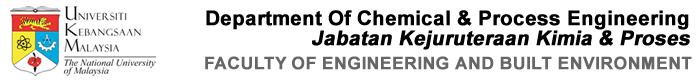 Jabatan Kejuruteraan Kimia & Proses Logo