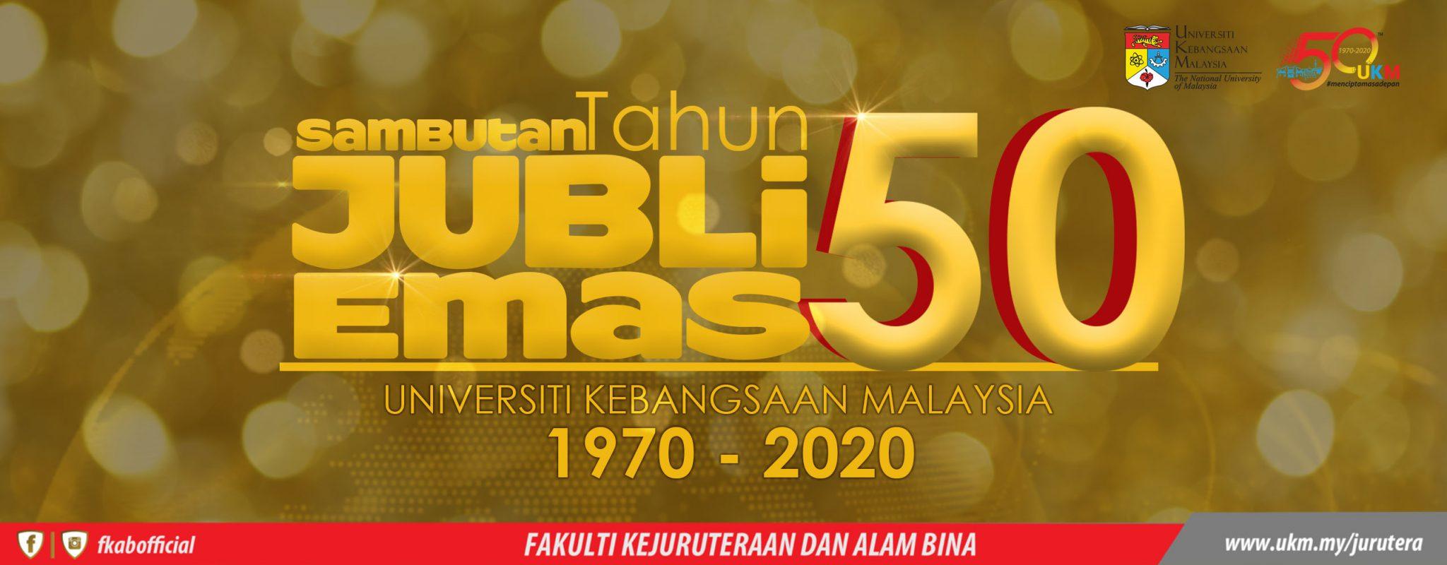UKM 50 tahun