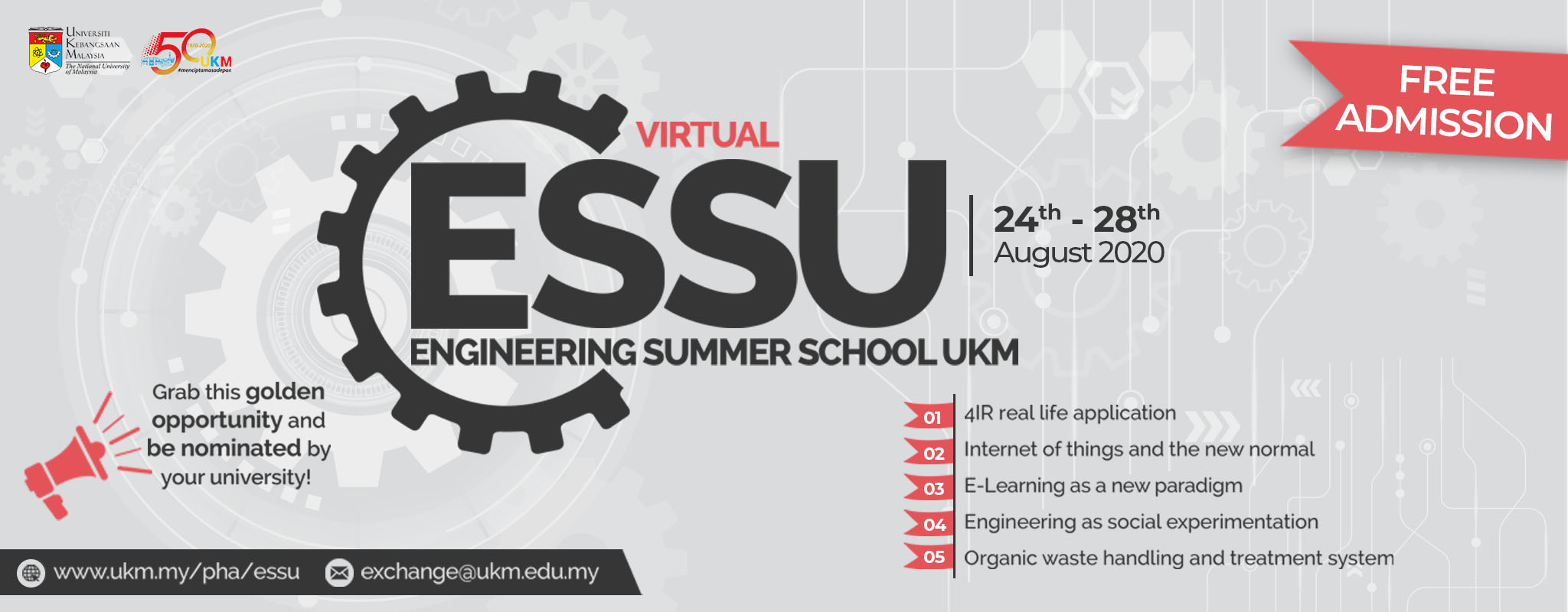 Engineering Summer School UKM 2020