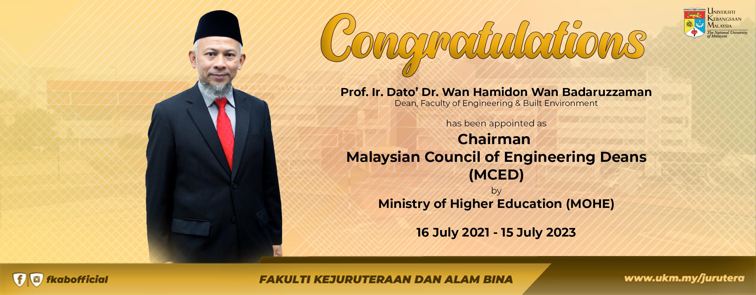 Tahniah Dekan FKAB