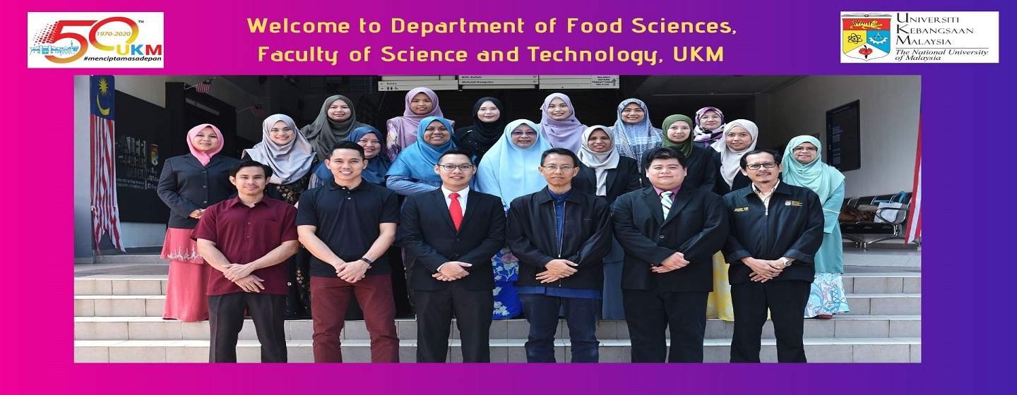 Welcome to Department of  Food Sciences