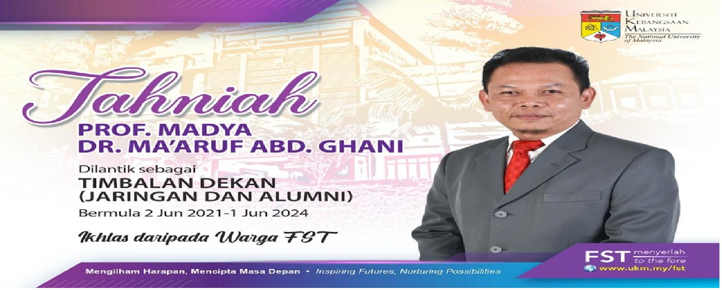Tahniah PM Dr Ma'aruf