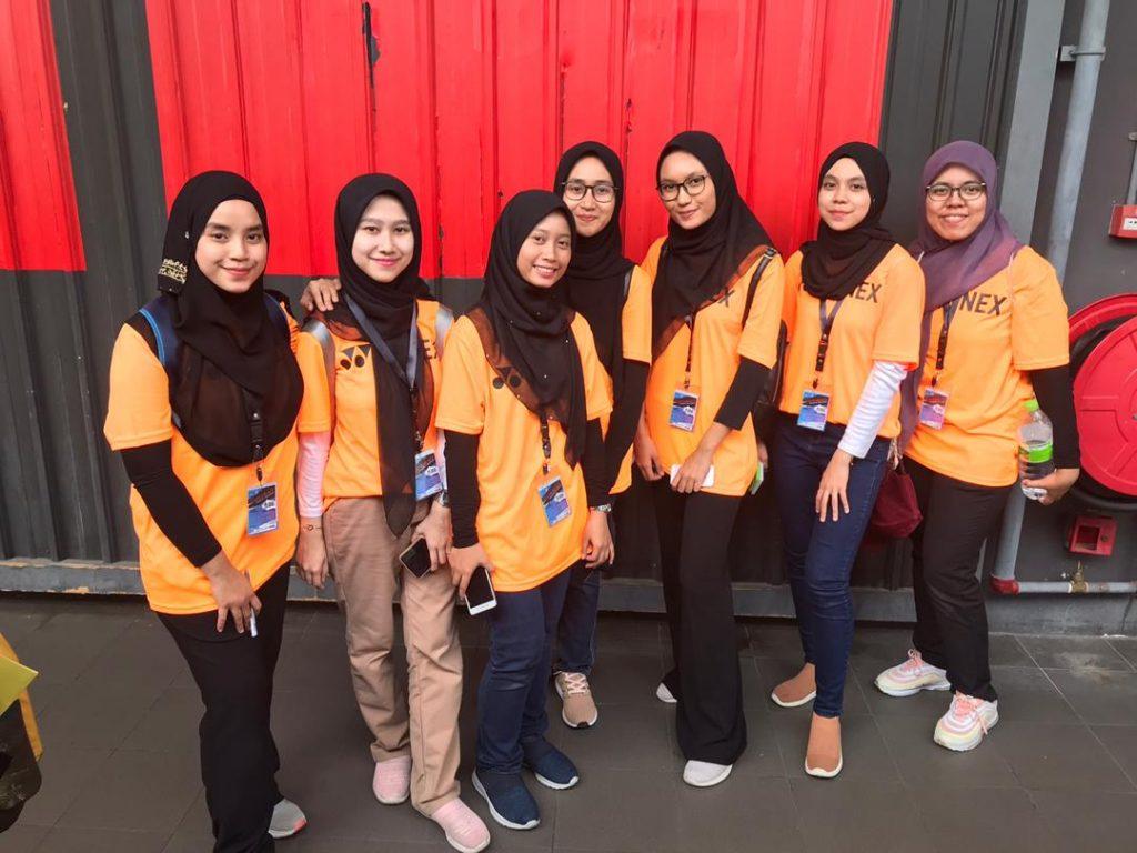 Sukarelawan dari program BSR Cyberjaya