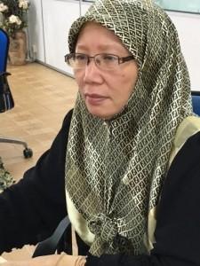Pn. Hamidah Abd Hamid - Penolong Pengurus Asrama Kanan