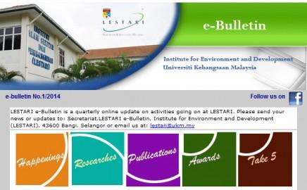 E-Bulletin 1/2014