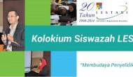 Kolokium Siswazah LESTARI 2014