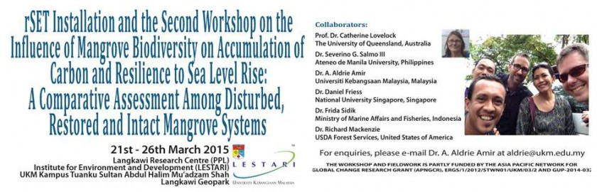 2nd Workshop on the Influence of Mangrove Biodiversity