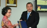 Majlis Menandatangani MoU antara UKM dan UPN Indonesia