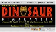 Menjejaki Dinosaur di Malaysia