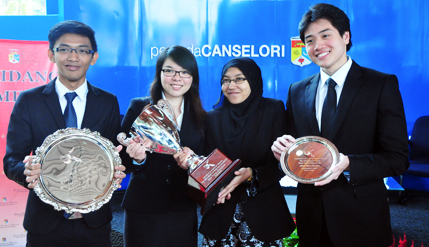 UKM Law Students Champion In International Moot Court Competition