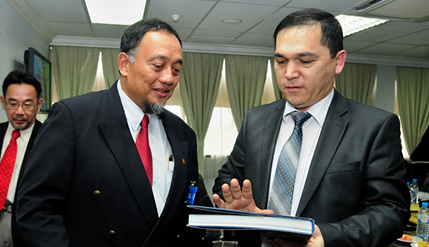 UKM Asked To Set Up Bahasa Melayu Courses In Uzbekistan