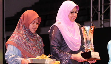 UKM Corporate Communications Centre Director Wins Maulidur Rasul Award