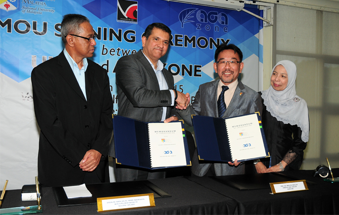 UKM To Cooperate With AGA Zone In Big Data Research