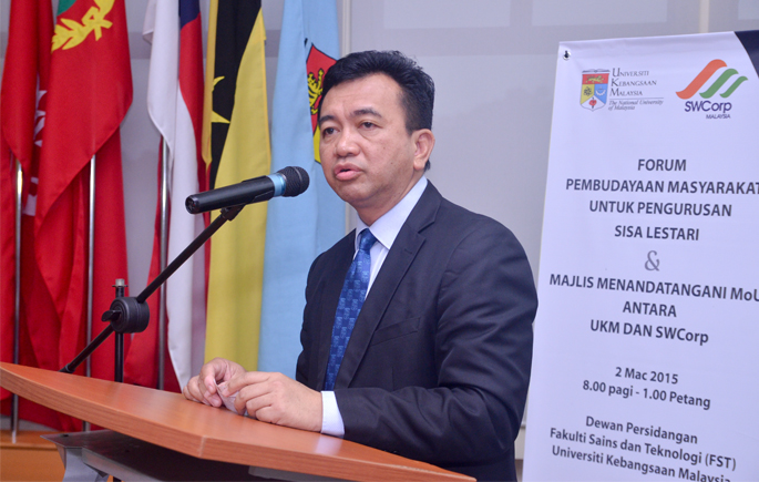 UKM and SWCorp To Collaborate In Solid Waste Disposal