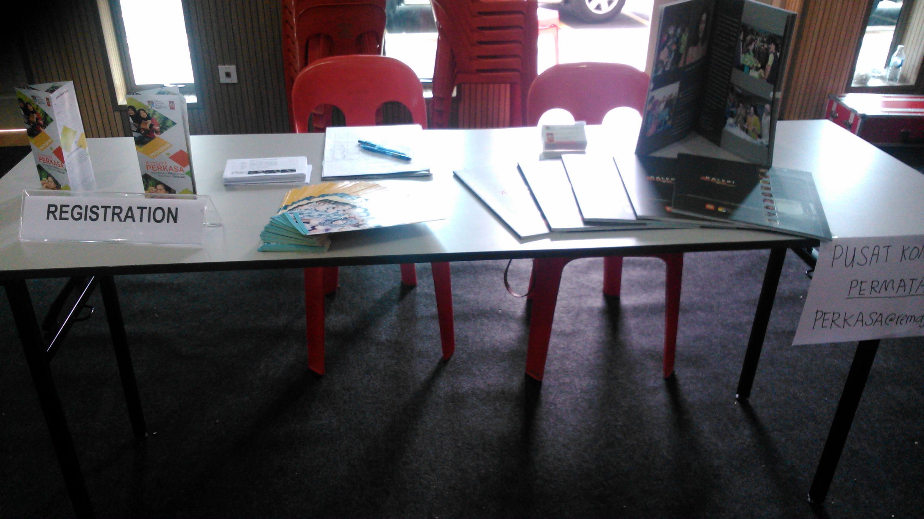 Booth pameran PERKASA@remaja