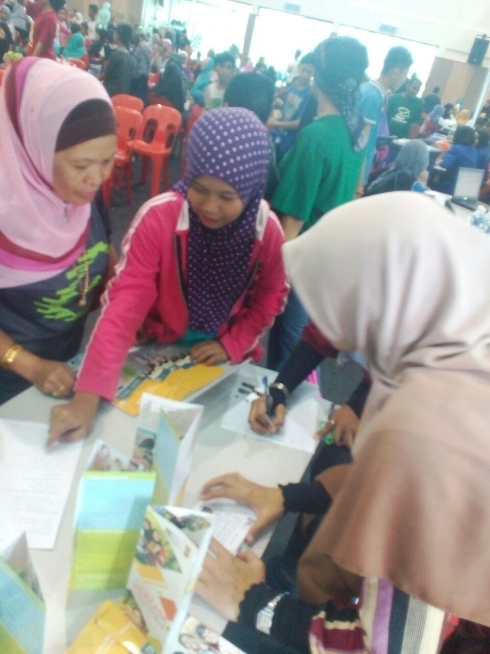 Pendaftaran remaja PPR Kg Muhibbah