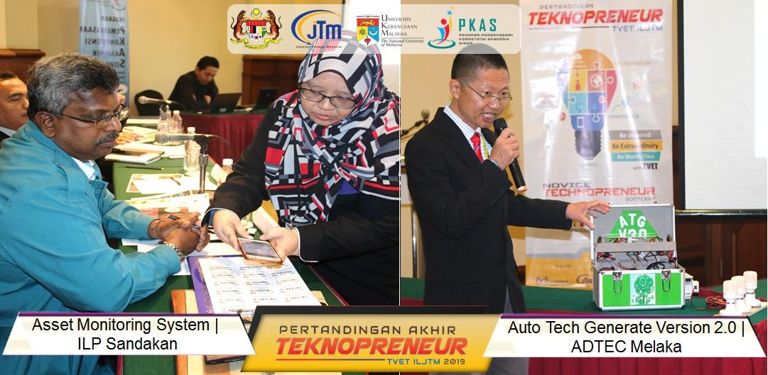 VIEW GALLERY: Pertandingan Akhir Teknopreneur TVET ILJTM 2019 ...