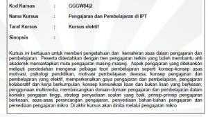 Pengajaran dan Pembelajaran di IPT
