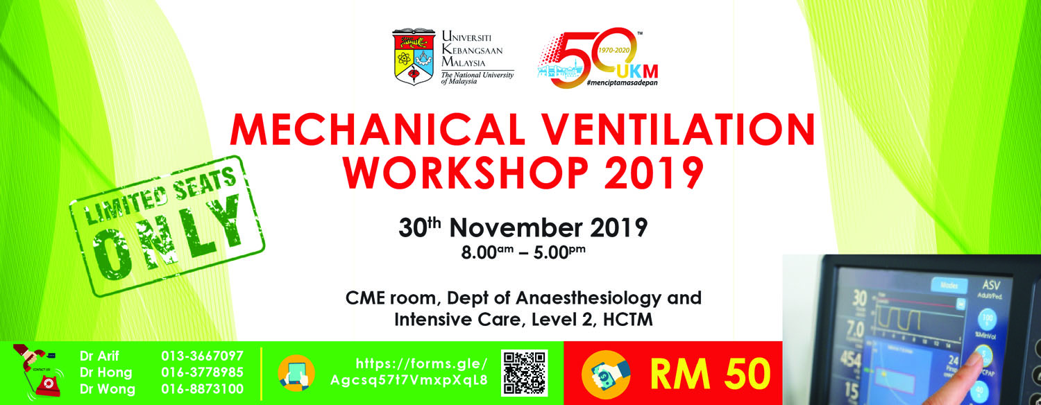 Mechanical Ventilation Workshop 2019
