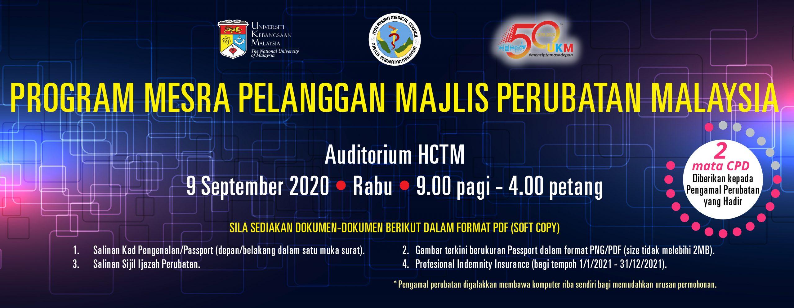 PROGRAM MESRA PELANGGAN MAJLIS PERUBATAN MALAYSIA