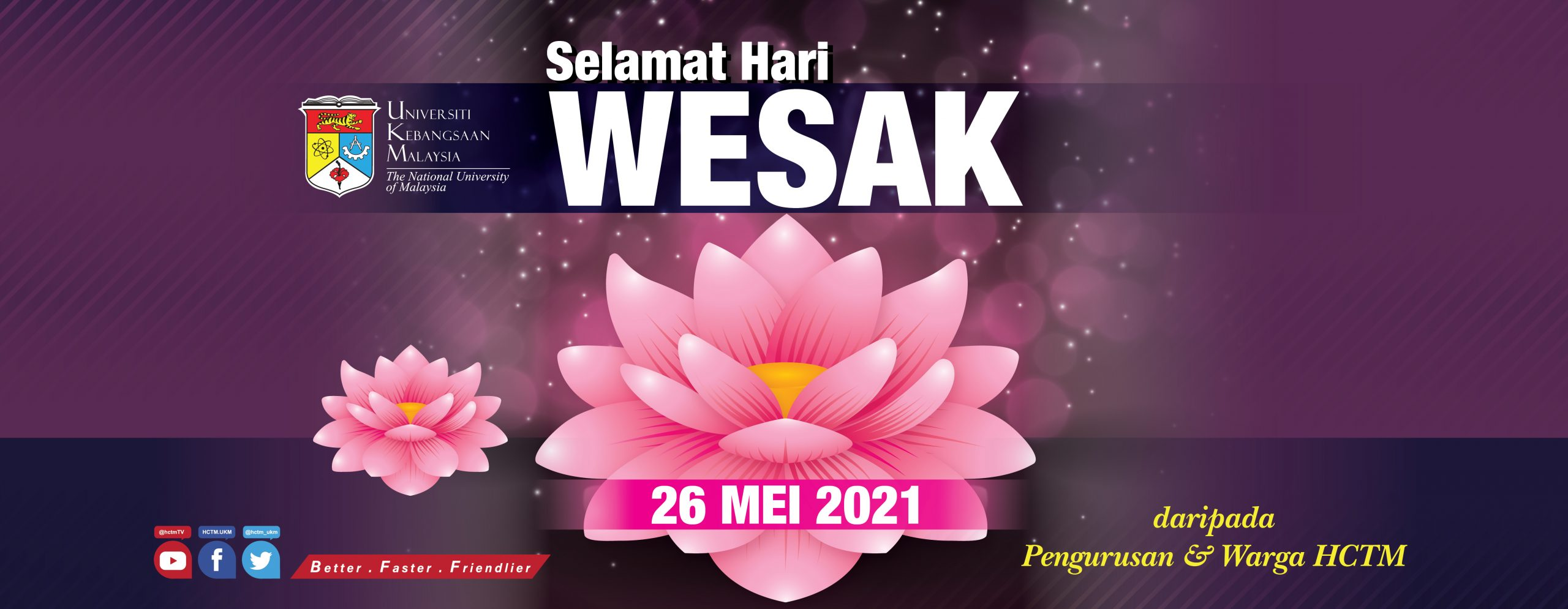 SELAMAT HARI WESAK 2021