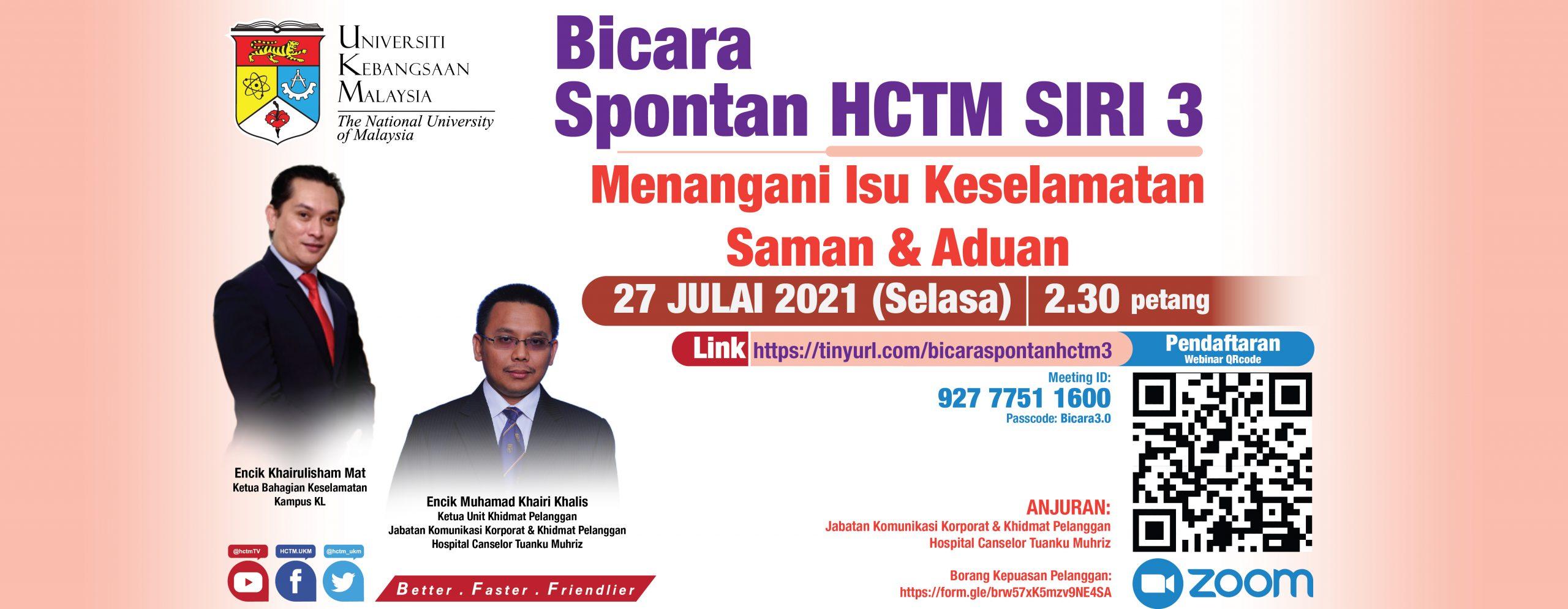 Bicara Spontan HCTM SIRI 3